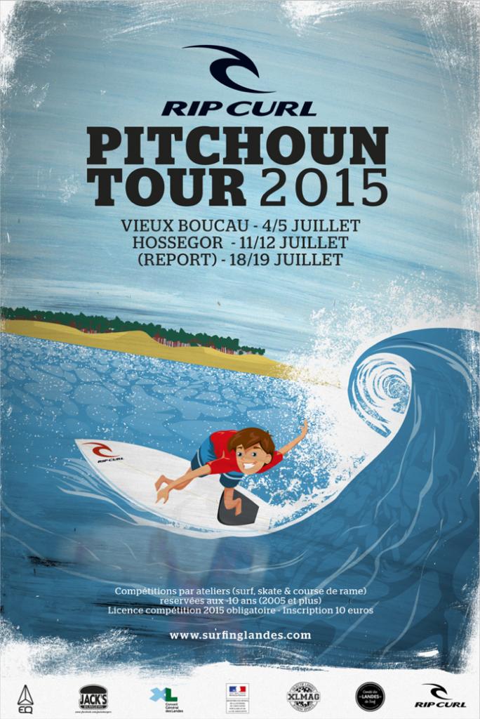 Affiche Pitchoun Tour 2015