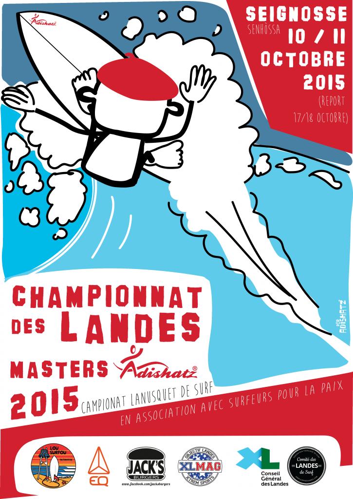 AFFICHE CH DES LANDES SURF 2015 vecto